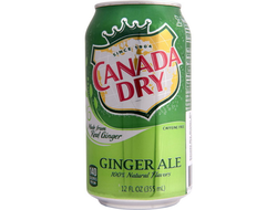 Canada Dry Ginger Ale, Польша, 330 мл