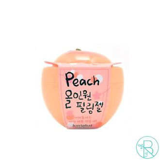 Пилинг для лица Baviphat Urban Dollkiss Peach All-in-one Peeling Gel