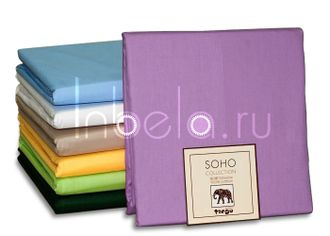 Простыня сатиновая TANGO SOHO collection 240*260 сиреневая BS2426-59