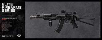Автомат АК-105 1/6 AK105 SET SPETSNAZ ASSAULT RIFLE (EF006) - DAMTOYS
