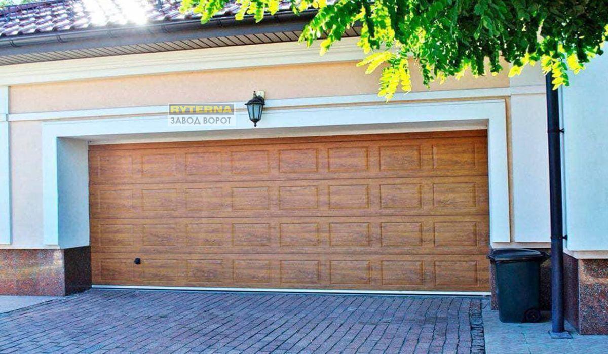теплые гаражные ворота - изготовление под заказ - харьков