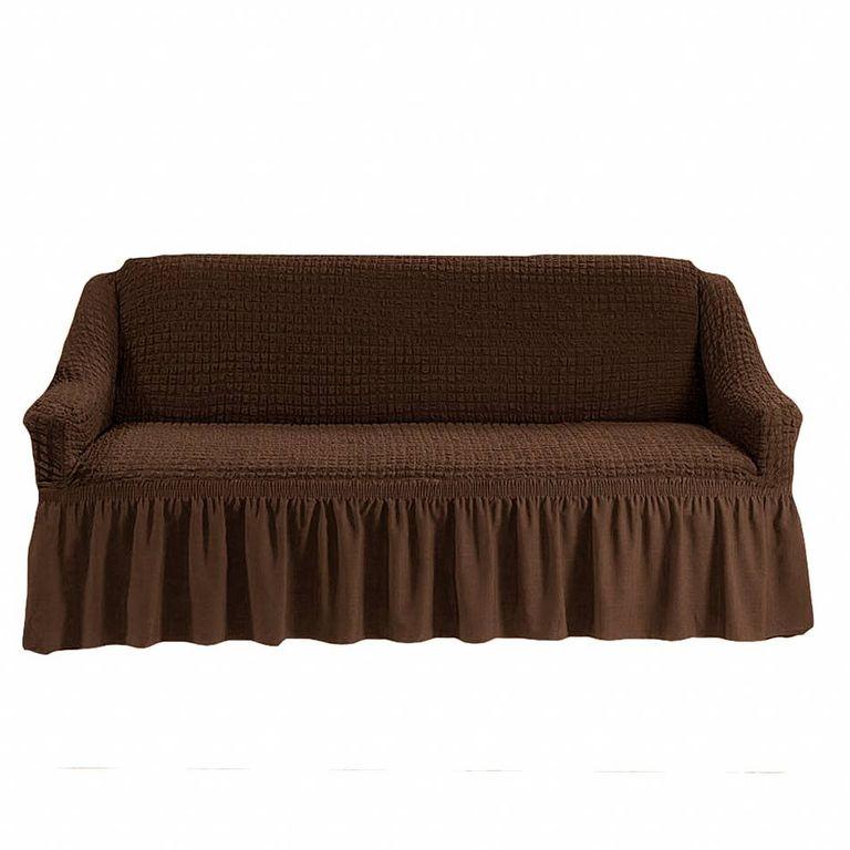 Чехол на диван, Шоколад 201
