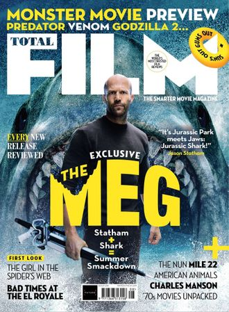 TOTAL FILM  Magazine August 2018 The Meg, Jason Statham Cover Иностранные журналы о кино, Intpress