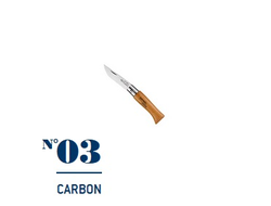 Нож Opinel №03 Carbon