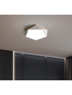 Лампа потолочный светильник Xiaomi Huizuo Macaron Series Smart Ceiling Polygon Light 24W 50см (белая)