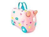 Чемодан на колесиках Фламинго Флосси TRUNKI Flossi the Flamingo