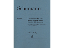 Robert Schumann Concert Piece for four Horns and Orchestra op. 86