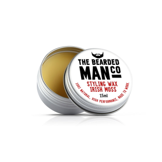 Воск для усов The Bearded Man Company, Irish Moss (Ирландский мох), 15 мл