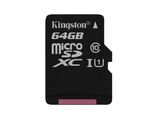 Карта памяти Kingston 64GB Micro SDHC Class 10