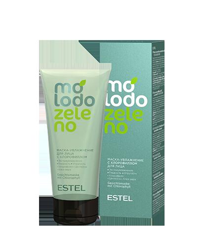Маска-увлажнение с хлорофиллом для лица MOLODO ZELENO 100 мл