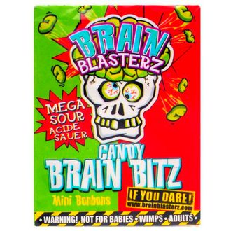 Кислые конфетки Brain Blasterz Apple Strawberry