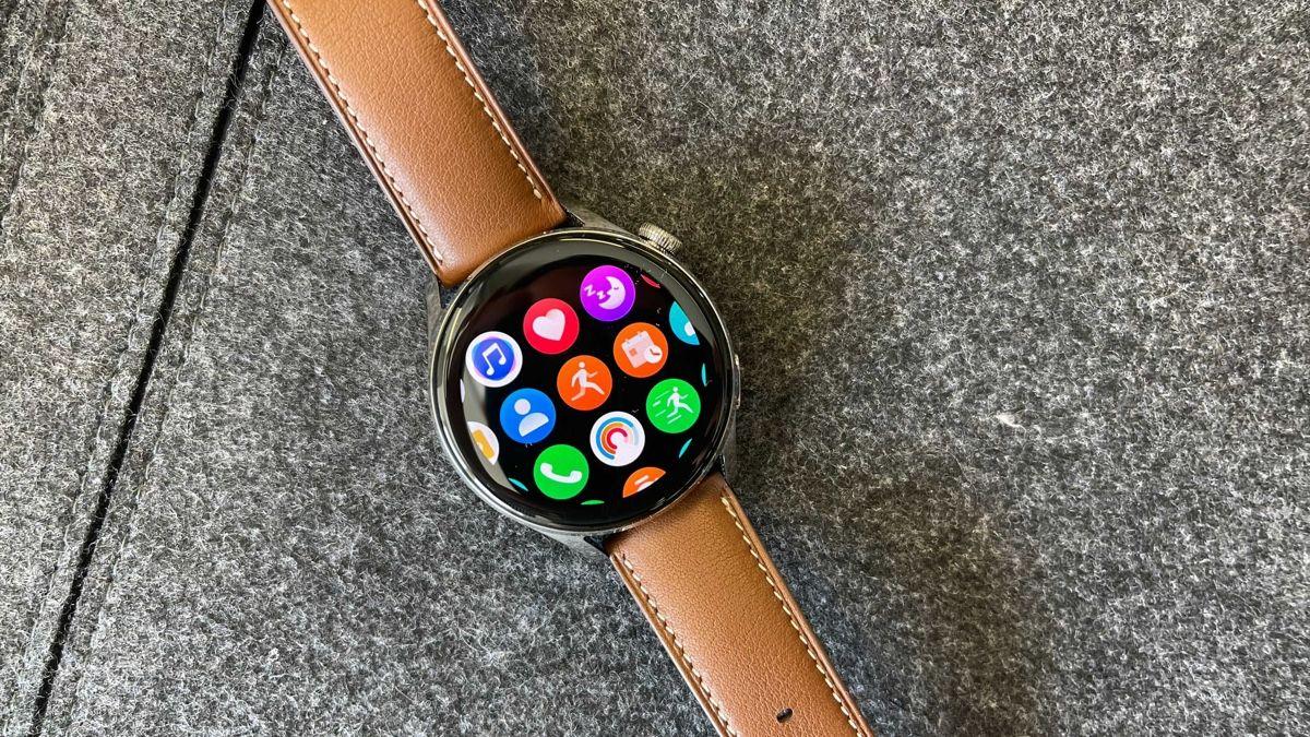 Huawei Watch 3 - умные часы на ОС Harmony и с отличным дизайном
