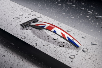 Бритва Bolin Webb R1, Union Jack, Gillette Mach3