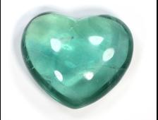 Сердце Флюорит, Китай (39*33*18 мм, 44 г) №20608