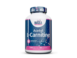 Acetyl L-Carnitine 1000mg / 100 Caps.