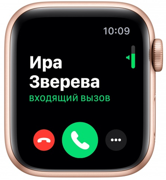 Apple Watch Series 5 44mm Aluminum Case with Sport Band (Розовое Золото)