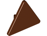 Road Sign 2 x 2 Triangle with Clip, Reddish Brown (892 / 4517594 / 6256067)