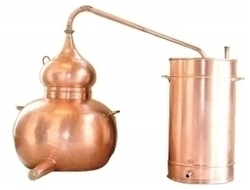 Аламбик традиционный 40л - 500л Португалия (CopperCrafts) CopperCrafts