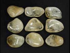 Цитрин (кварц), галтовка в ассортименте, Бразилия (20-25 мм, 3-5 г) №21343