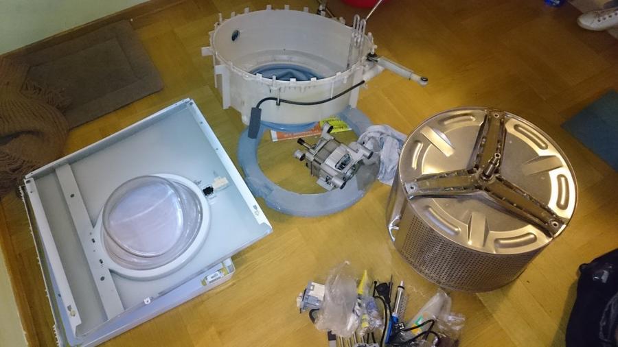 починить стиральную машину Electrolux