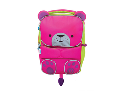 Детский рюкзак Trunki Toddlepak Розовый Мишка