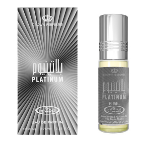 ТАрабские духи Al Rehab Platinum 6ml масляные