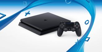 Sony PlayStation 4 (PS4) Slim (EUR CUH-2016A) (500Гб) REF (5.01)