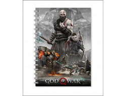 ТЕТРАДЬ God of War №7