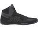 борцовки Asics Snapdown Black/Black/Carbon J703Y-9090 wrestling shoes фото сбоку справа