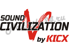 Наклейка Sound civilization by kicx