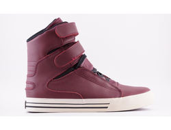 Кроссовки Supra TK Society Burgundy Lether