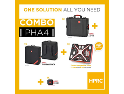 Кейс пластиковый и сумка KIT RESIN CASE HPRC2710 FOR PHANTOM 4 + BAG WITH FOAM - COMBO
