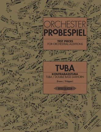 Test Pieces for Orchestral Auditions (Tuba)