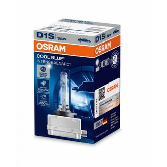 Ксеноновая лампа OSRAM D1S Xenarc Cool Blue Intense 6000 K 66140CBI