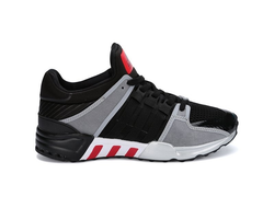 Adidas EQT Running Support 93 Black/Gray/Red черно-серо-красные