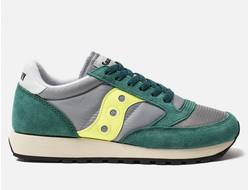 Кроссовки Saucony Jazz Original Vintage Green Grey Neon