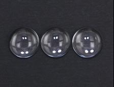 Кабошон Кварц горный хрусталь, круг (12*5 мм, 5 карат/1 г) №15794