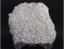 Кварц молочный, крупная эстетичная щетка блестящих кристаллов, Дальнегорск (170*160*25 мм, 969 г) №16178