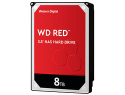 ЖЕСТКИЙ ДИСК HDD 8TB WESTERN DIGITAL RED SATA 6GB/S 5400RPM