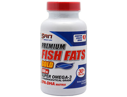 (SAN) Premium Fish Fats Gold - (60 капс)