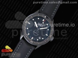 Fifty Fathoms Bathyscaphe Ceramic Black