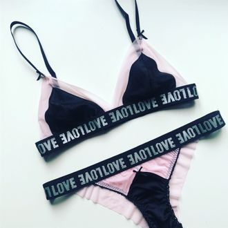 Diana Love Pink Black (80A-M)