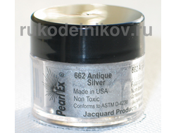 Pearl Ex, antigue silver 662, вес-3 гр.