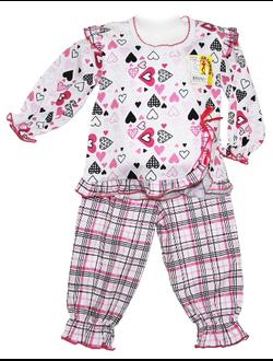 Пижама для девочки (Артикул 332-023)