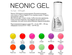 Gel Polish — Neonic Gel