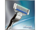 Gillette Mach3 Turbo бритвенный станок с 2 кассетами