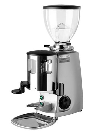 Кофемолка Mazzer Mini Manual Silver с дозатором