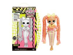 MGA Entertainment Кукла L.O.L. Surprise OMG Lights Series - Dazzle Fashion Doll с 15 сюрпризами, 565185