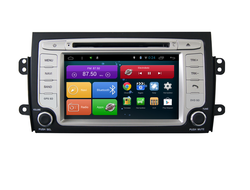 Автомагнитола MegaZvuk AD-7023 Suzuki SX4 I (2006+) на Android 6.0.1 Quad-Core (4 ядра) 7""