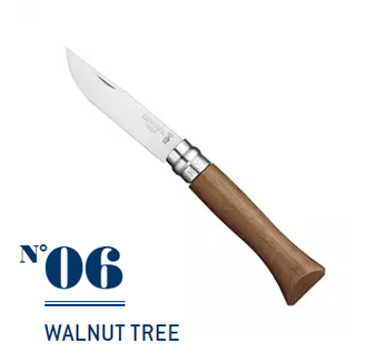 Нож Opinel №06 Walnut Tree (орех)